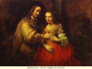 rembrandt_Isaac et Rebecca
